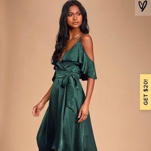 Dress Forest Green